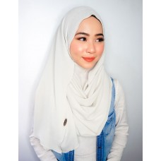 Instant Shawl 1.0 Bubble Crepe (Heather Grey)