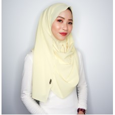 Instant Shawl 1.0 Georgette (Lemon curd)
