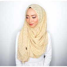 Instant shawl 1.0 (Herringbone Series - Goldilocks)