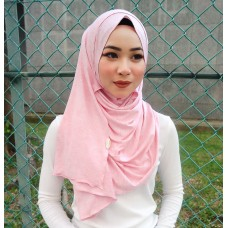 Instant shawl 1.0 (Iron free series - Strawberry Cupcake)