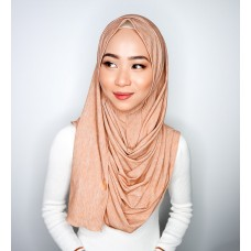 Instant shawl 1.0 (Iron free Dual Shade Series - Vanilla Malt Duo)