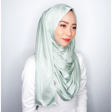 Instant shawl 1.0 (Iron free Silky series - Tiffany)
