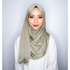 Instant shawl 1.0 (Iron free Silky series - Olive)