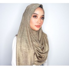 Instant shawl 1.0 (Iron free series - Metallic Gold)