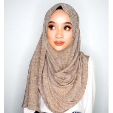 Instant shawl 1.0 (Iron free series - Metallic Hazelnut)