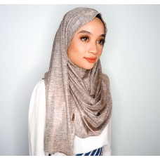 Instant Shawl 1.0 (Iron-free Series - Metallic Sepia Brown)