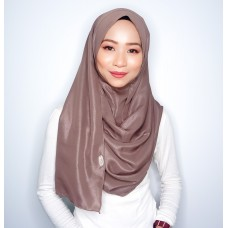 Instant shawl 1.0 (Metallic Crepe Series: Roasted Chestnut)