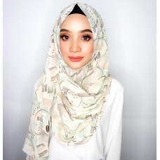 Instant shawl 1.0 (Printed series: Adria)