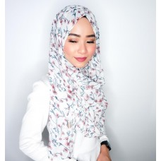 Instant shawl 1.0 (Printed series: Aerie - White)