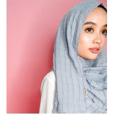 Instant Shawl 1.0 Grid (Heather Grey)