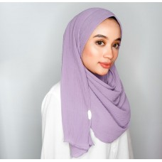 Instant Shawl 1.0 Pleated chiffon (Lilac)