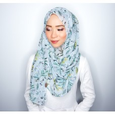 Instant shawl 1.0 (Printed series: Ellis - Light Green)