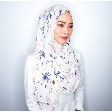 Instant shawl 1.0 (Printed series: Harper - White)