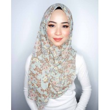Instant shawl 1.0 (Printed series: Cleo - Avocado Smoothie)
