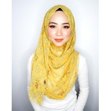 Instant shawl 1.0 (Printed series: Alana - Lemon Meringue)