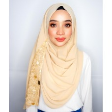 Instant shawl 1.0 (Whimsical rings series : Gold)