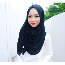 Instant Shawl 1.0 Chiffon (Black Widow)