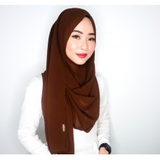 Instant Shawl 1.0 Chiffon (Brownie)