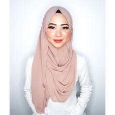 Instant Shawl 1.0 Chiffon (Wood Rose)