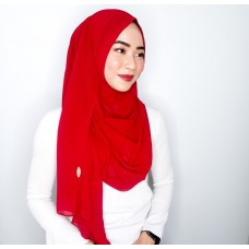 Instant Shawl 1.0 Chiffon (Red Berries)