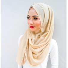 Instant Shawl 1.0 Chiffon (Gold Sunkissed)