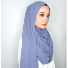 Instant Shawl 1.0 Mixed Crepe (Periwinkle)