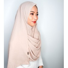 Instant Shawl 1.0 Moss Crepe (Misty Nude)