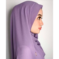Instant Shawl 1.0 Ribbed Chiffon (Purple Wisteria)
