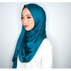 Instant Shawl 1.0 (Satin Silk Series : Teal)