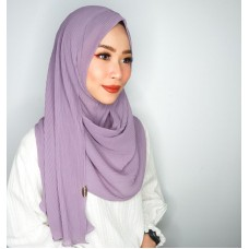 Instant shawl 1.0 (Iron free Pleated series: Vintage Rose)