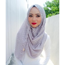 Instant shawl 1.0 (Herringbone Series - Taupe grey)