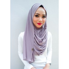 Instant Shawl 1.0 Chiffon (Berries Smoothie)