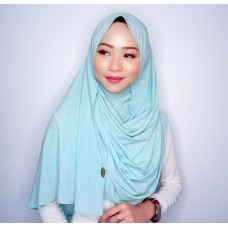 Instant shawl 1.0 (Iron free series - Glitter Tiffany)