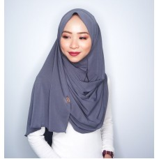 Instant shawl 1.0 (Iron free series - Gunmetal Grey)