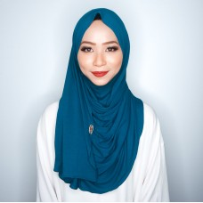 Instant shawl 1.0 (Iron free series - Blue Daisy)