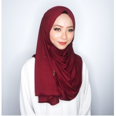 Instant shawl 1.0 (Iron free series - Pomegranate)