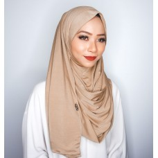 Instant shawl 1.0 (Iron free Silky series - Toffee)