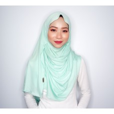Instant shawl 1.0 (Iron free series - Minty Mint)