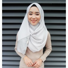 Instant shawl 1.0 (Organza series:  Heather Grey)