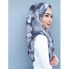 Instant shawl 1.0 (Printed series: Nadine in Gunmetal)