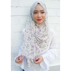 Instant shawl 1.0 (Printed series: Eden - Nude)