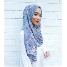 Instant shawl 1.0 (Printed series: Andrea - Grey)