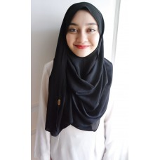 Instant Shawl 1.0 Crepe (Black Widow)
