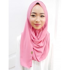 Instant Shawl 1.0 Mixed Crepe (Full Bloom)