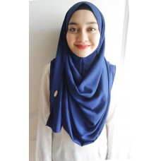Instant Shawl 1.0 Crepe (Atlantic Blue)