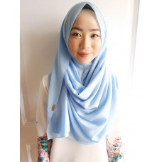 Instant Shawl 1.0 Georgette (Morning Breeze)