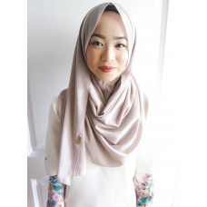 Instant Shawl 1.0 Georgette (Dolphin Fin)