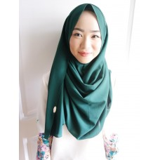 Instant Shawl 1.0 Georgette (Green Meadows)