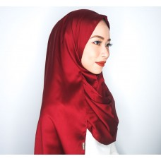 Instant Shawl 1.0 (Satin silk series: Unwine'd)