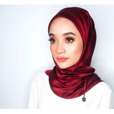 CALI Semi Instant Shawl with Inner (Satin - Unwine'd)